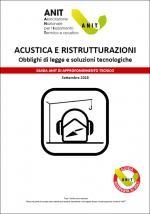 Acustica e ristrutturazioni - Copertina