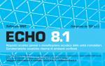 Echo 8.1